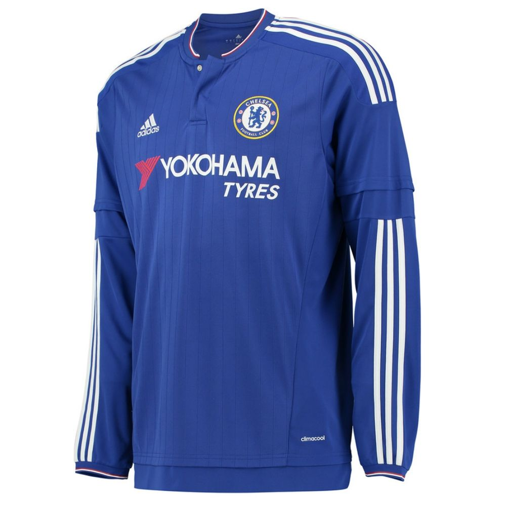 Chelsea Home '15-'16 Long Sleeve Replica Soccer Jersey (Chelsea Blue/White/Power  Red) | Chelsea Soccer Jerseys | S11676| | SoccerCorner.com