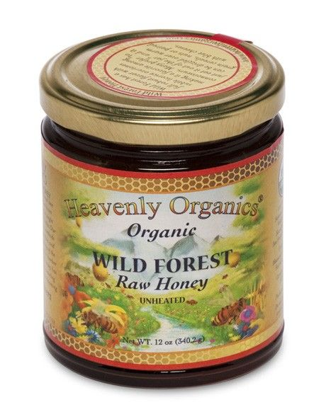 Heavenly Organics Indian Wild Forest Honey 12oz
