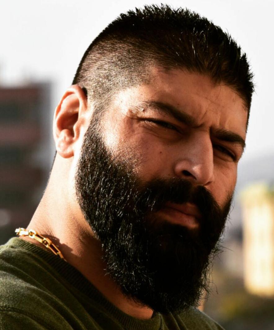 приложении профессиональные фото красивых бородатых восточных мужчин для тих