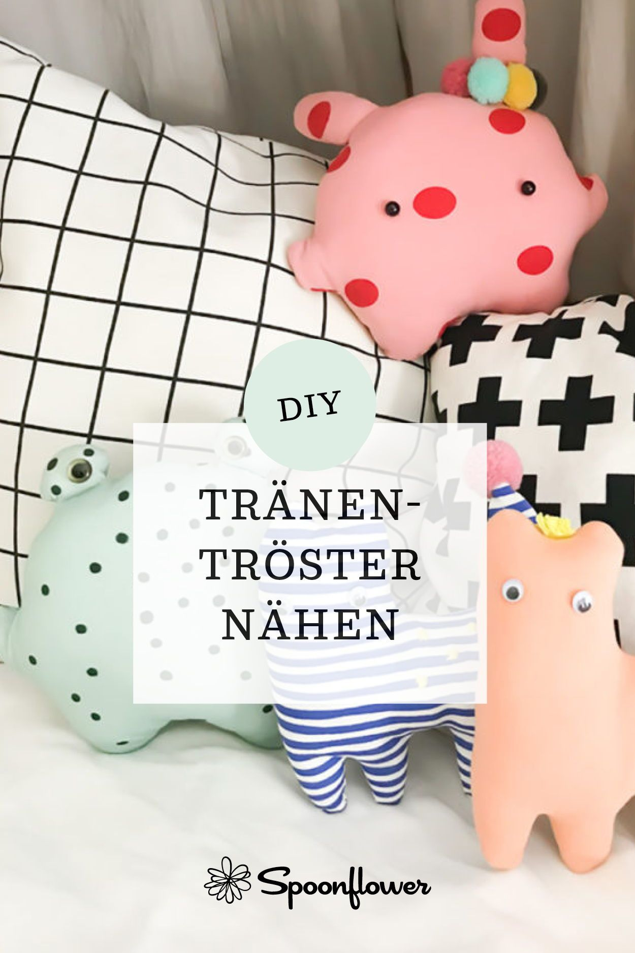 Upcycling: DIY Kuscheltiere Buddy Bande – sewing