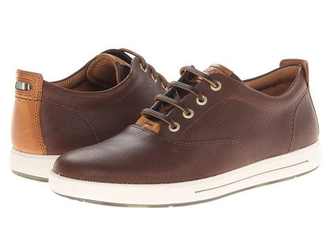 da13495725 ECCO Eisner Brown Leather Retro Sneaker | Guy Stuff in 2019 | Mens ...