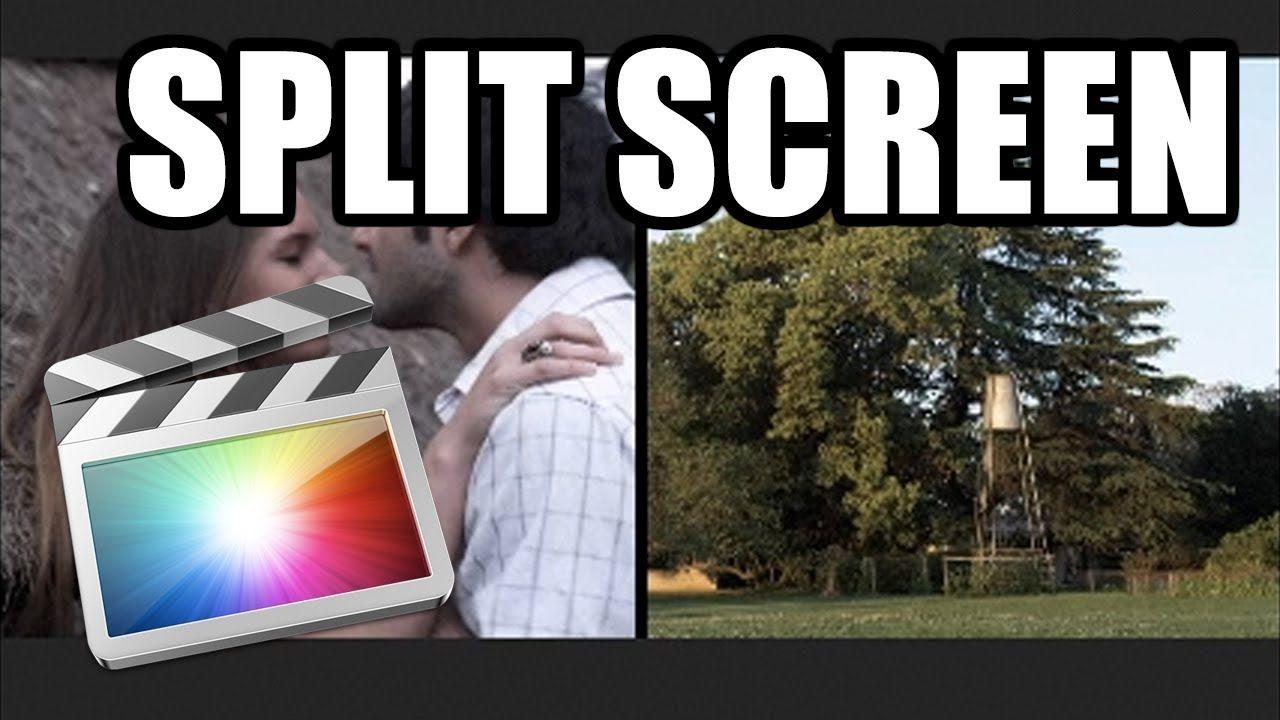 Final Cut Pro X - #37: Split screen (pantalla partida)