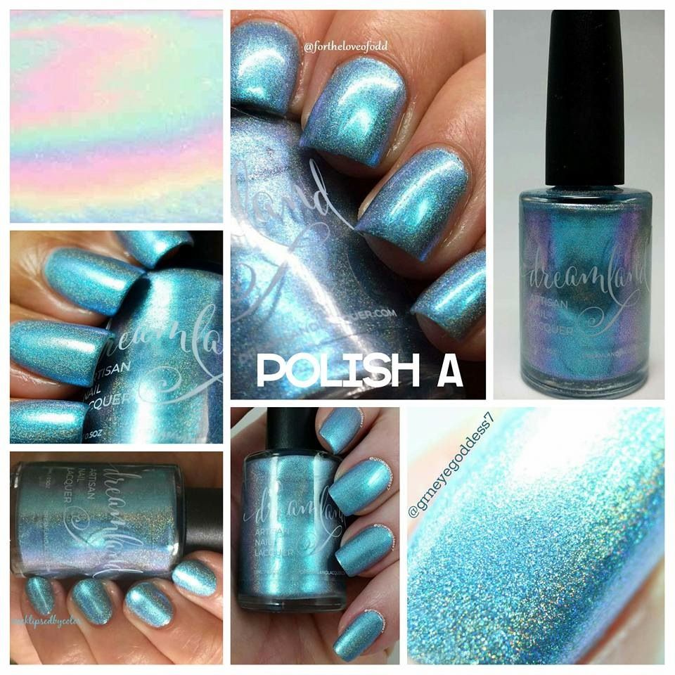 Dreamland Lacquer Aurora Four Ealis Hhc April 2016 With Images Lacquer Nail Polish