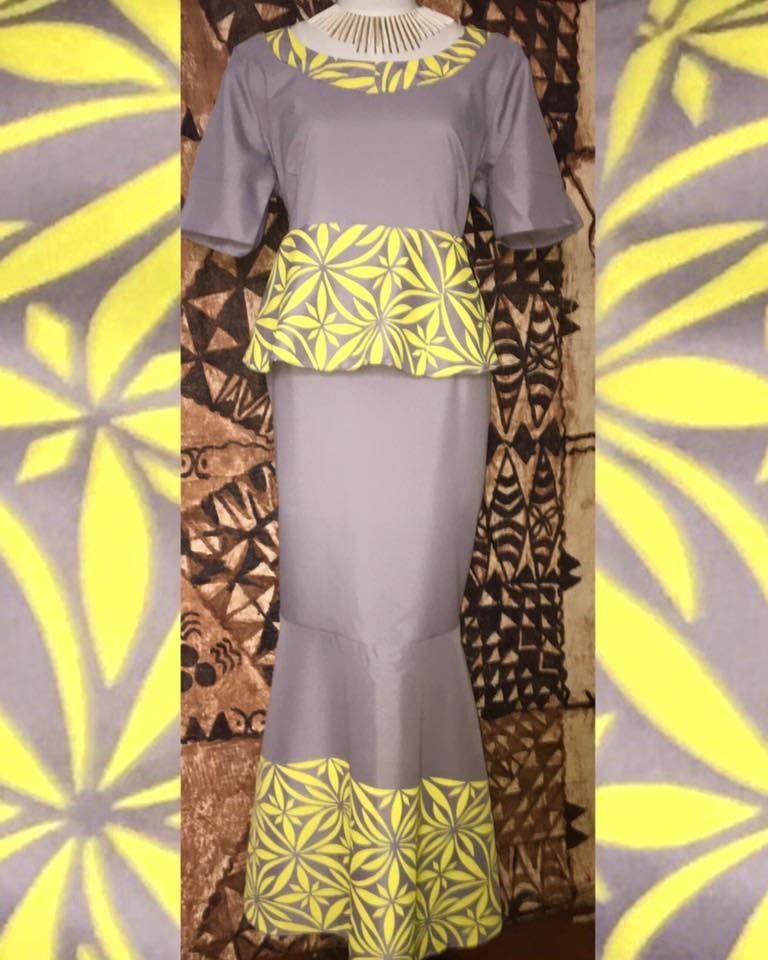 For More Follow Queenfressh Sewing Samoan Dress
