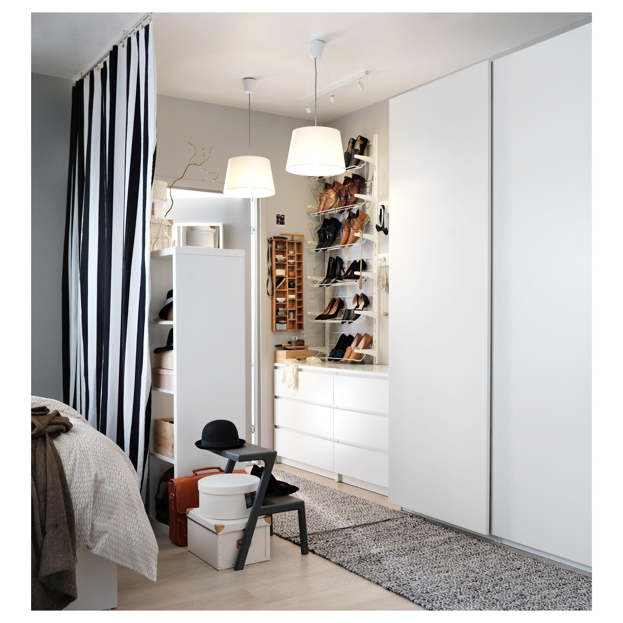 PAX Wardrobe white, Hasvik white Pax wardrobe, Ikea