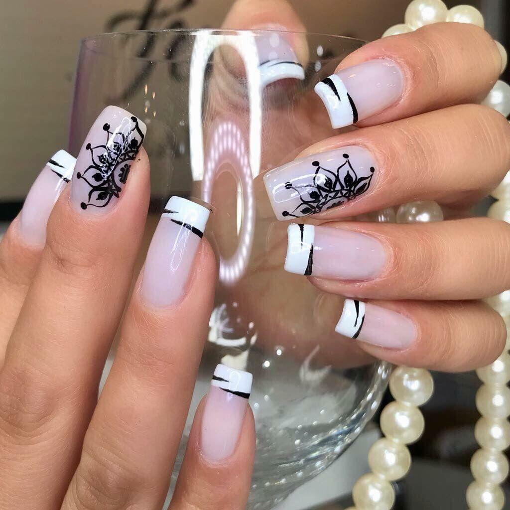 Pin by Greicy Alvarez on uñas | Pinterest | Manicure, Beautiful nail ...