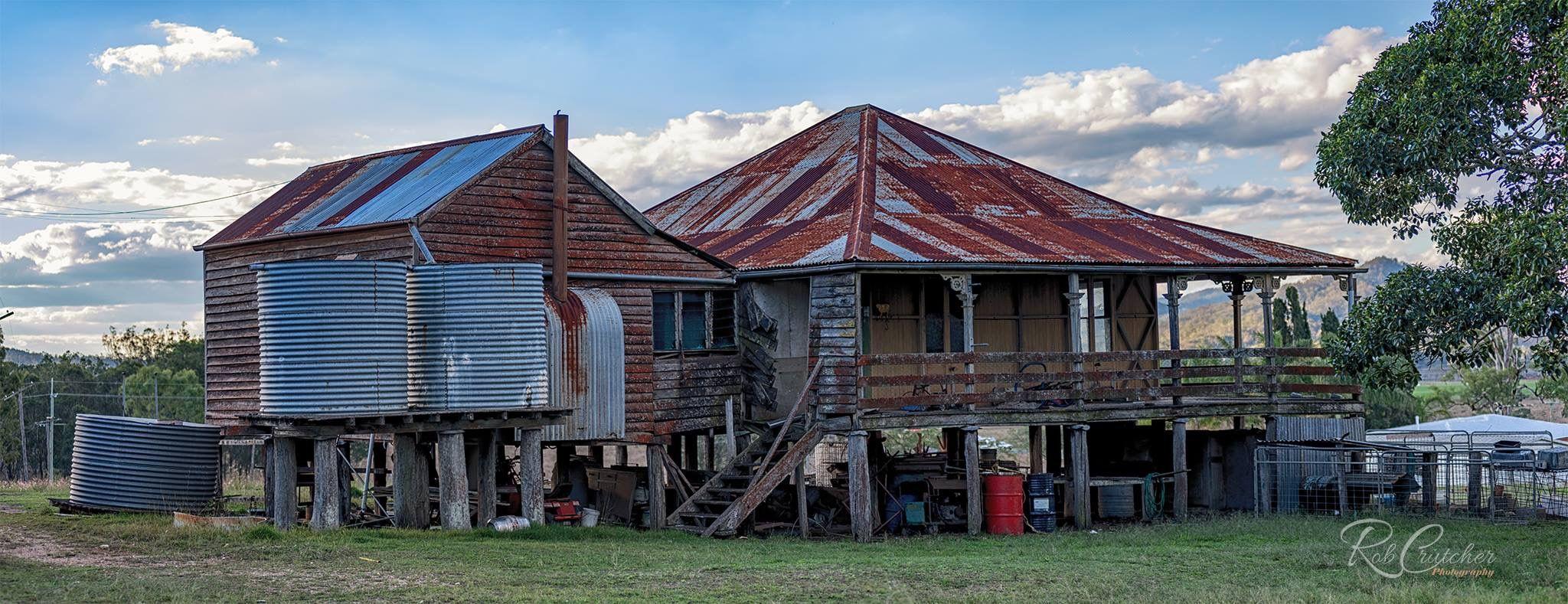 Verandah Of Abandoned Farm House Somerset Region S E Queensland Abandoned Houses Old Abandoned Buildings Australian Homes