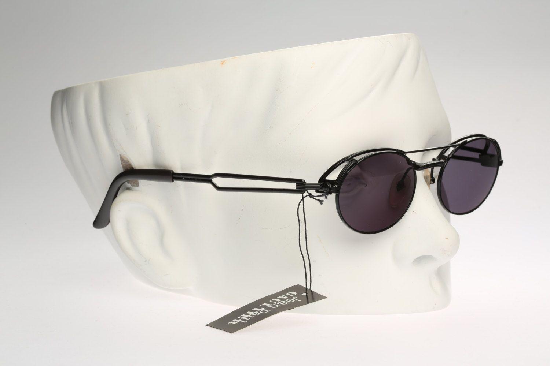 d5450a56145 jean paul gaultier 56-7107   90s Vintage sunglasses   NOS   Industrial  steampunk designer eyewear by CarettaVintage on Etsy