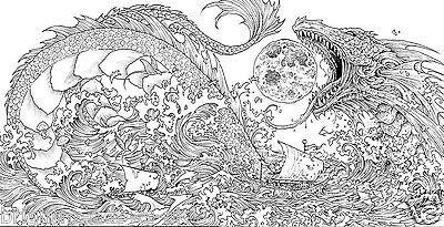Mythomorphia Adult Colouring Book Creative Art Therapy ...