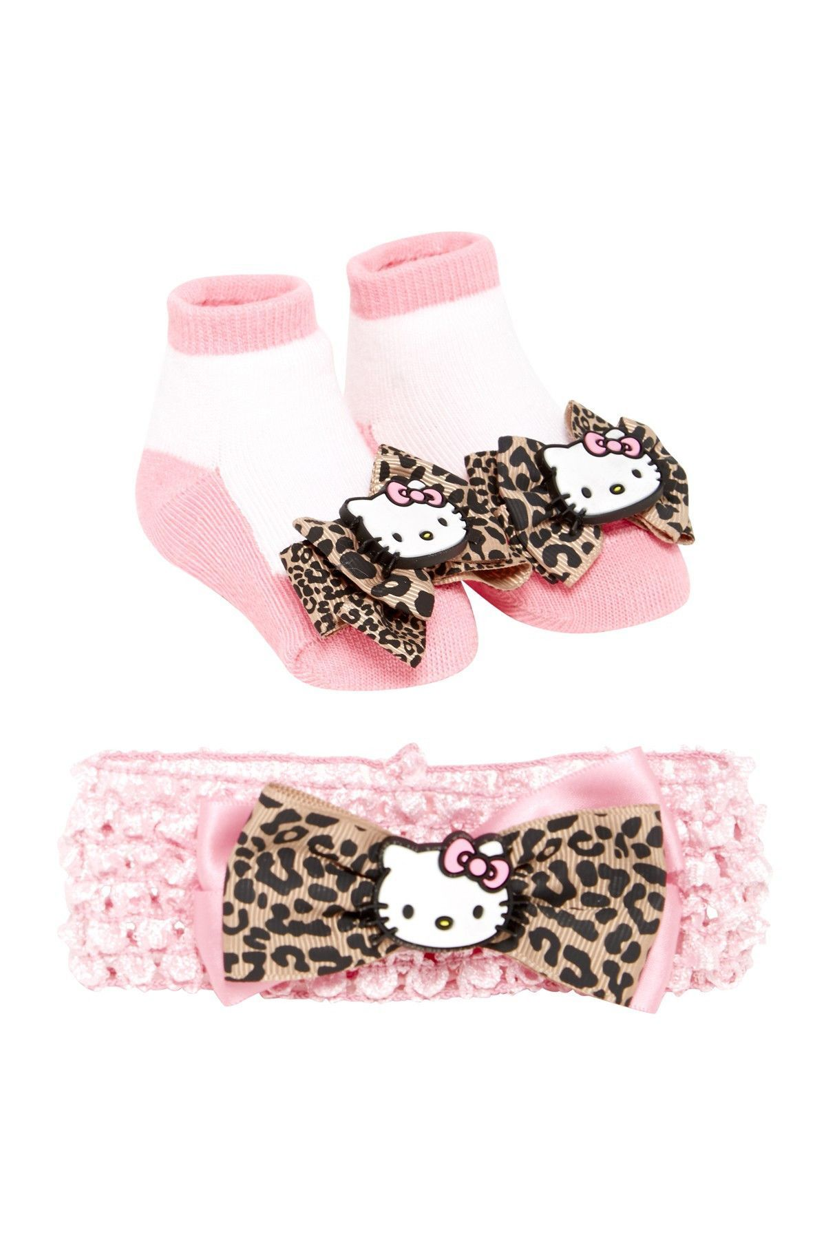 Soft Touch  INFANT SOCKS AND HEADBAND SET 0-6 MONTHS WHITE