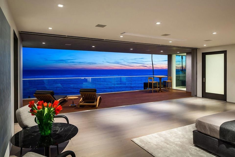 Living Room Interior Design With Sea View Architecture Seaview Andhrapradesh راس السنه الامازيغيه Malibu Homes Modern House Luxury Homes