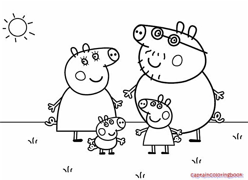 47 Inspirational Nick Jr Coloring Pages Peppa Pig Coloring Pages Family Coloring Pages Nick Jr Coloring Pages