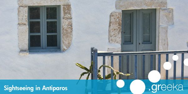 10 Sightseeing in Antiparos island - Greeka.com