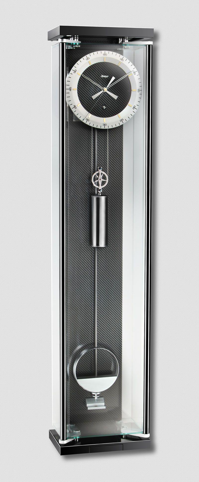 Kieninger precision pendulum regulator glass case carbon fiber kieninger precision pendulum regulator glass case carbon fiber back panel amipublicfo Images