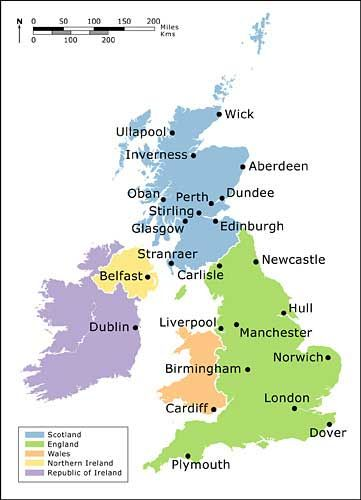 Main Uk Cities Kingdom Of Great Britain Clroom Inspiration Stirling Capital City