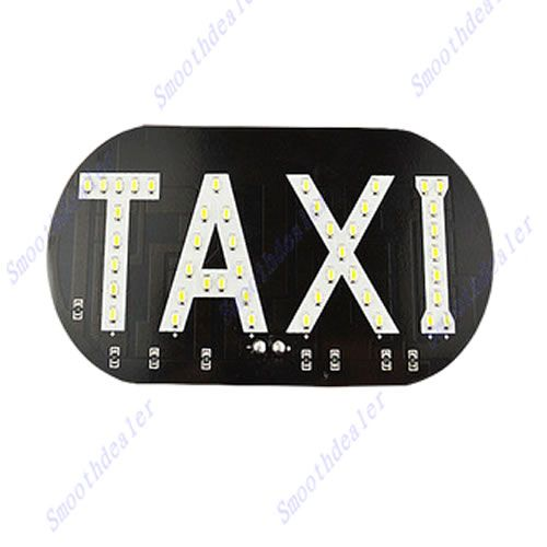 Free Shipping Auto Vehicles Car Windscreen Cab Sign White Led Taxi Light Lamp 12v In Light Source From Automobiles Motor Lamp Light Car Lights Spotlight Lamp