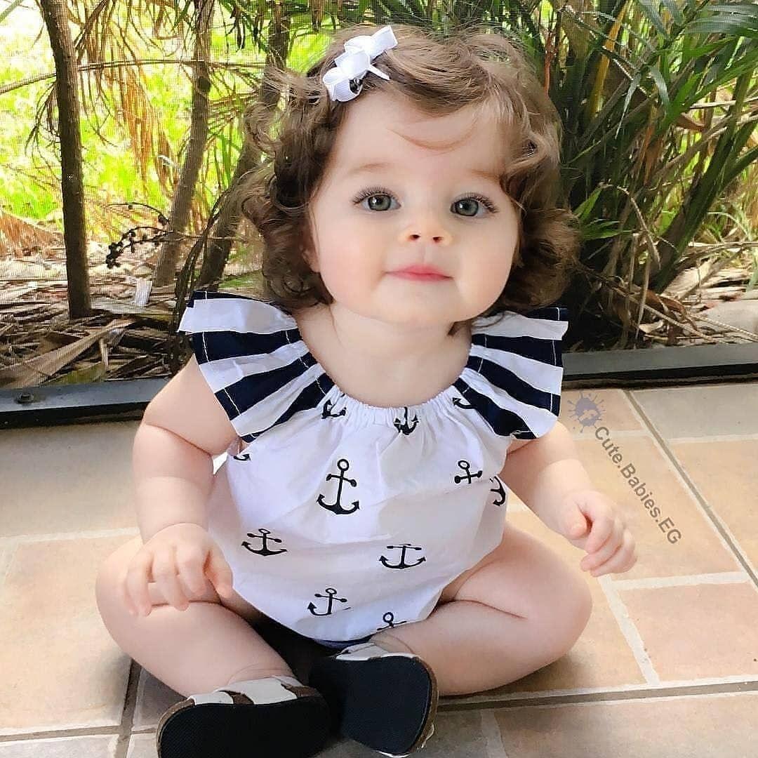 Akşamımız Güzelleşsin Bu Tatlı Bebişle Mavi Gözlü Bebek Baby Bouncer Bebek Giyimi