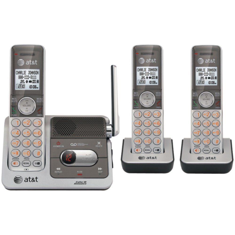 ATT CL82301 DECT 6.0 Cordless Phone System with Talking Caller ID   Digital Answ #ATT