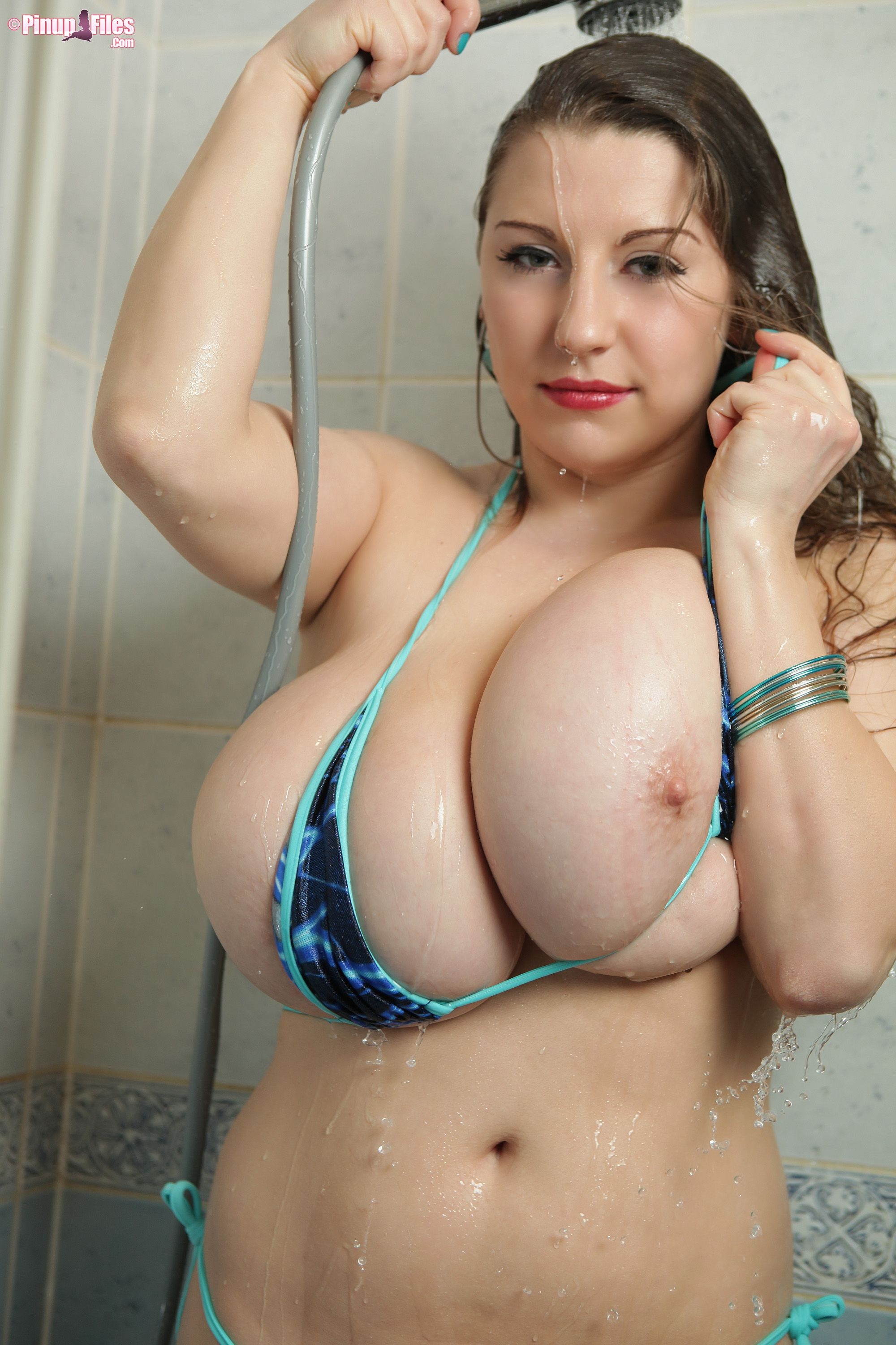 from Bronson amateur curvey nude shower