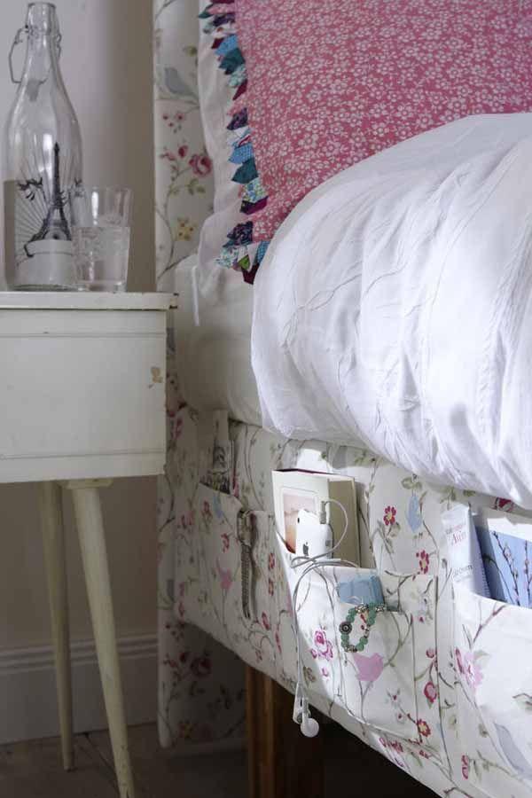 Hoher Nachttisch Viterbo Komfort mit Ablage und einer Schublade ...