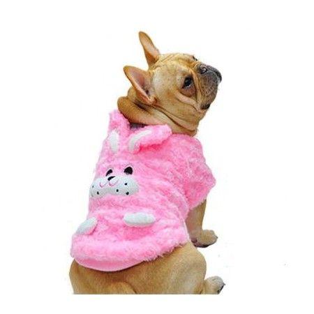 manteau-rose-hiver-chien-lapin-chaud-fashion-fille-pas-cher