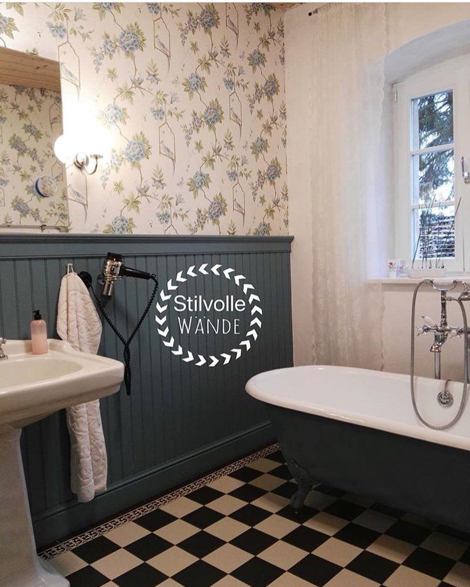 Dieses Bad Lasst Sich Sehen Stilvoll Und Exquisit Durch Unsere Wandverkleidung Lackiert In Edlem Anthrazit Wa Badgestaltung Raumgestaltung Wohnideen