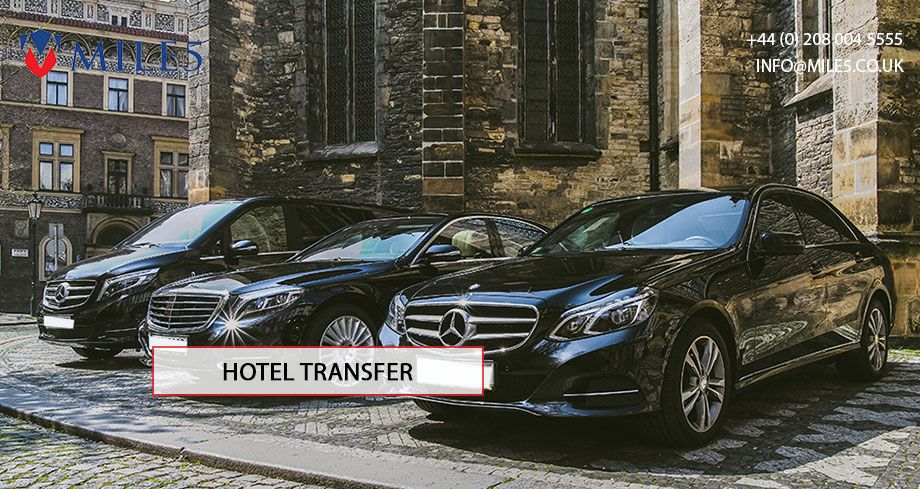 Hire our chauffeur company for Hotel transfers Airport