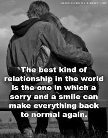 Heartfelt Quotes: The best kind of relationship