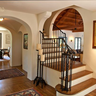 Best Old California Mission Style Staircase Foyer Home Sweet 400 x 300