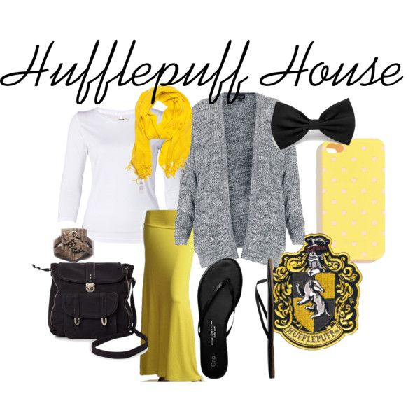 """Hufflepuff House"" by gunnerdog on Polyvore"