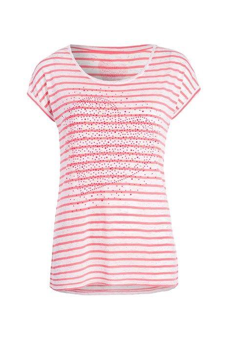 T-shirt rayé avec clous