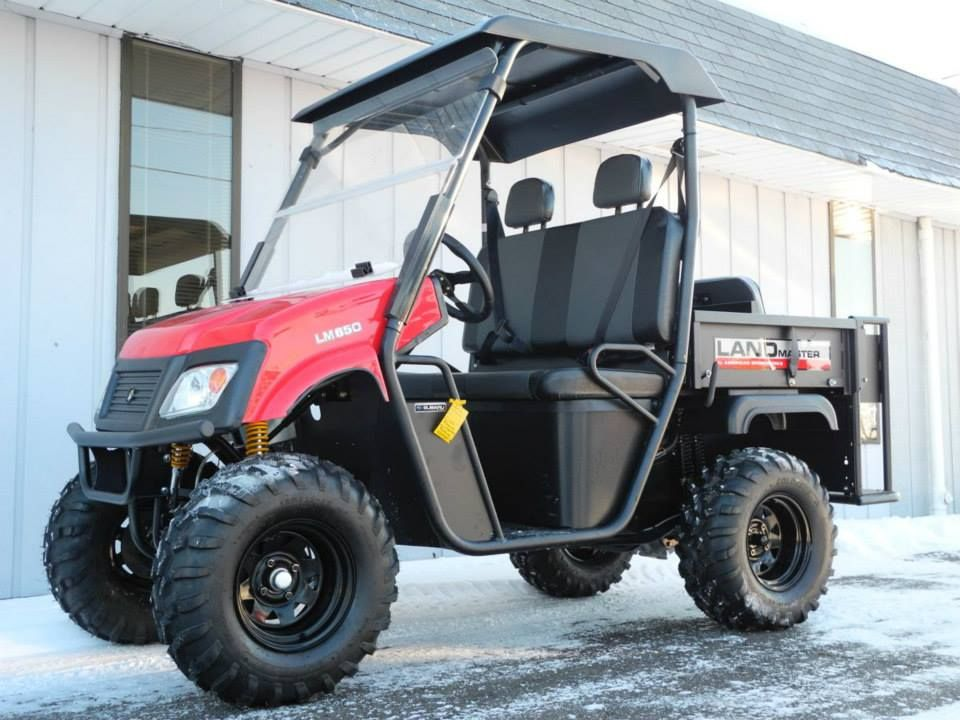 This brand new American SportWorks LM650S side-by-side 4x4