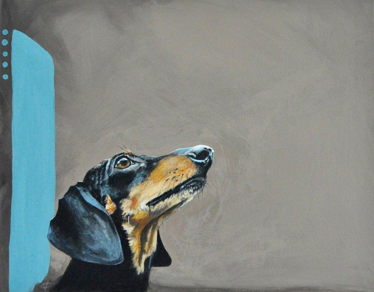 Dachshund I Love Doxies Dogs Dachshund Dog Art