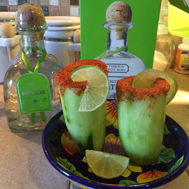 Caballitos De Pepino Cucumber Shot Glasses