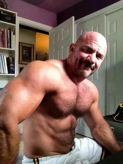 Old hairy gay
