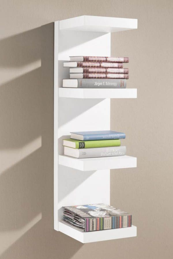 Wandregale Fur Wohnzimmer Und Kuche With Images White Wall Shelves Ikea Floating Shelves Floating Shelves Bathroom