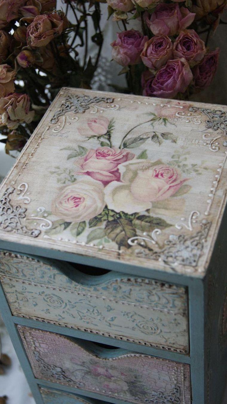 Vieillir ou patiner un meuble en bois les techniques de diy d co conna tre vintage rose - Patiner un meuble en bois ...