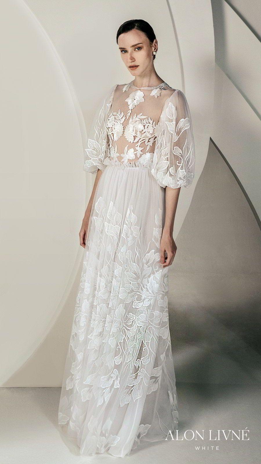 Stunning Alon Livné White Spring 2020 Wedding Dresses