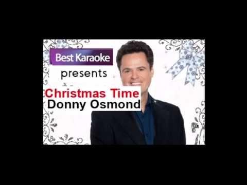 * BEST KARAOKE * Christmas Time - Donny Osmond #bestkaraokemachine