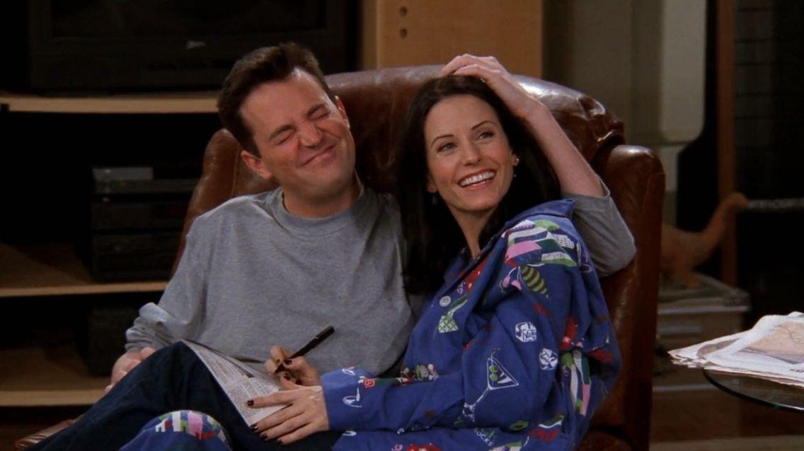 My most favorite couple ever! Monica Geller ❤️ Chandler Bing F.r.i.e.n.d.s S05-E16