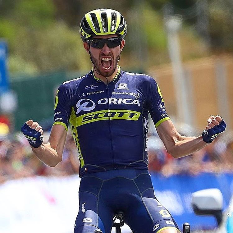 Damien Howson wins Stage 1 Herald Sun Tour 2017 @bettiniphoto
