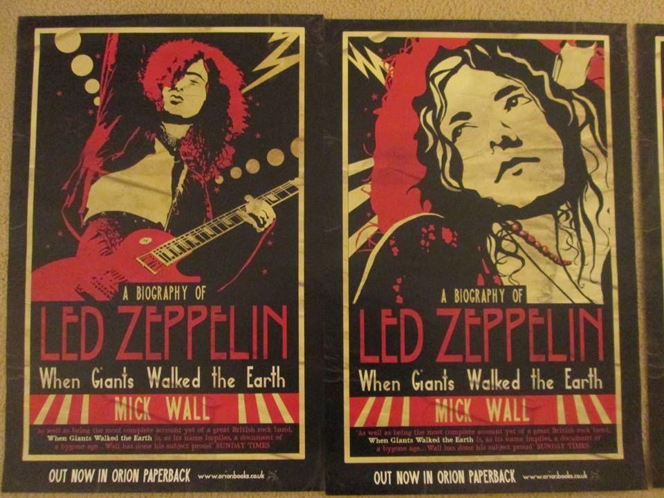 Boek Led Zeppelin Als De Reuzen Waren Over De Aarde Van