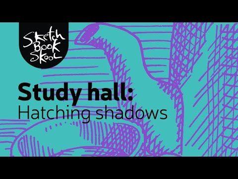 Study Hall: Create Shading with Cross-Hatching - Sketchbook Skool Blog
