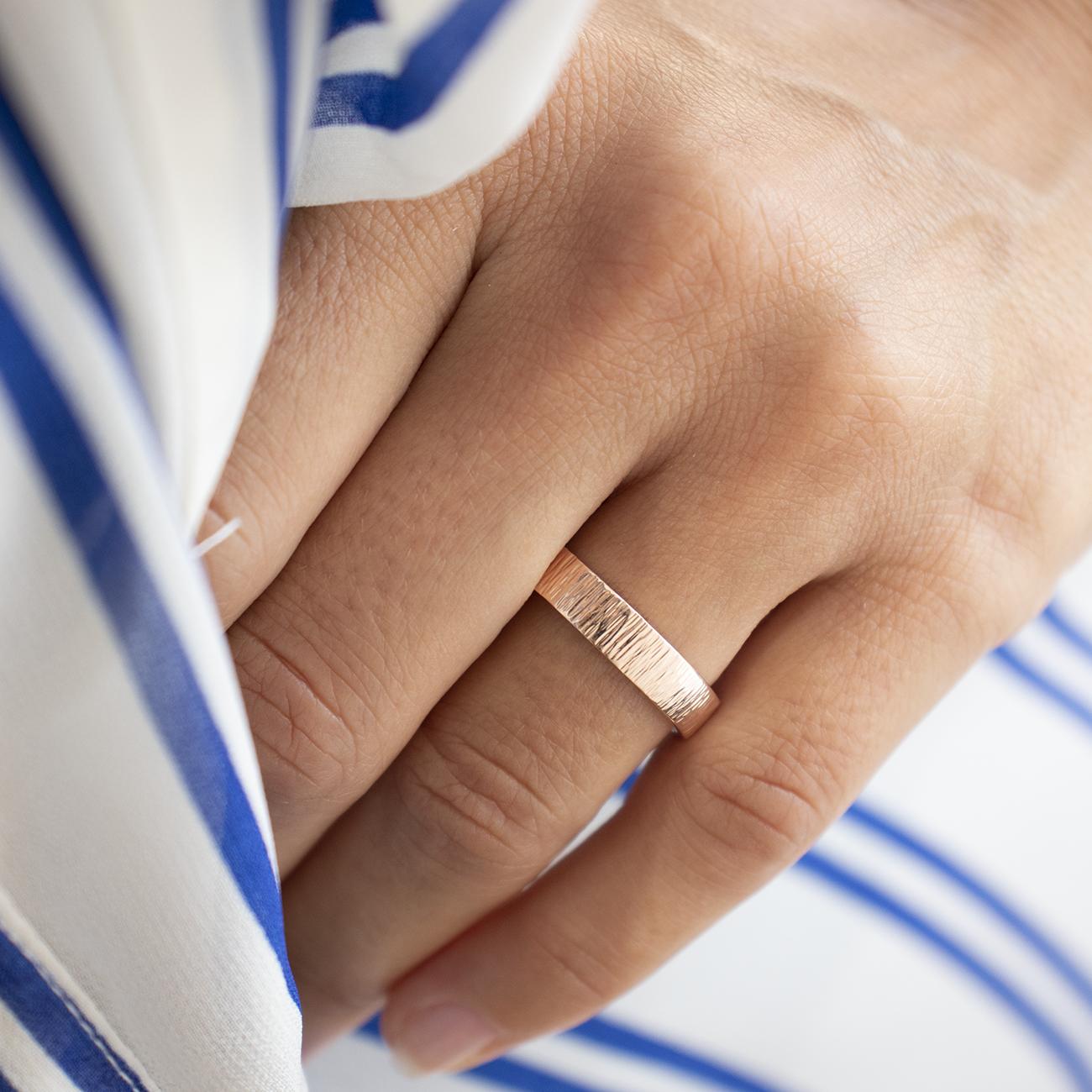 Etienne 4mm Wedding Band Hammered Wedding Bands Ethical Wedding Rings Wedding Bands