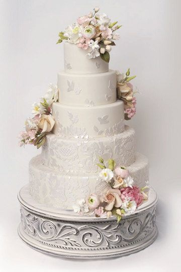 Antiqued Cake Stand By Weddingfads On Etsy