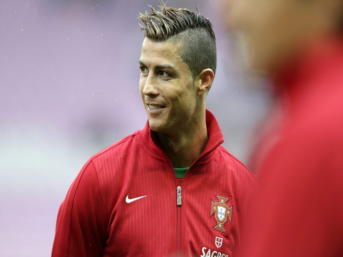 Hairstyles Cristiano Ronaldo And Ronaldo On Pinterest
