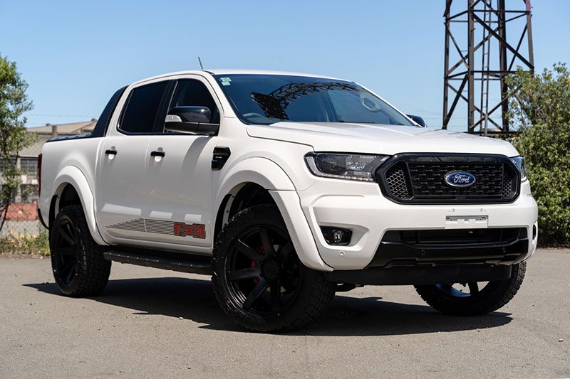 Ford Ranger Fx4 Sport Arctic White Team Hutchinson Ford
