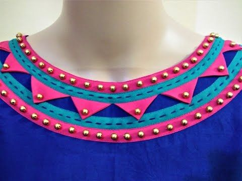 Rajasthani Look Boat Neck Design Cutting And Stitching Simple