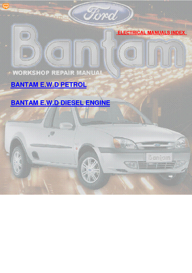 Ford Bantam Wiring Diagram Free Ford Bantam 1600 Wiring Diagram Ford Bantam 2002 Wiring Diagrams Service Manual Download Ford B Bantam Electrical Motor Ford