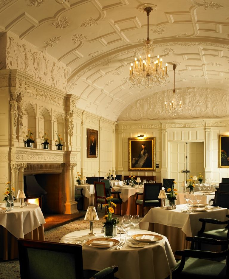 Zodiac Restaurant At Hanbury Manor Marriott Hotel And